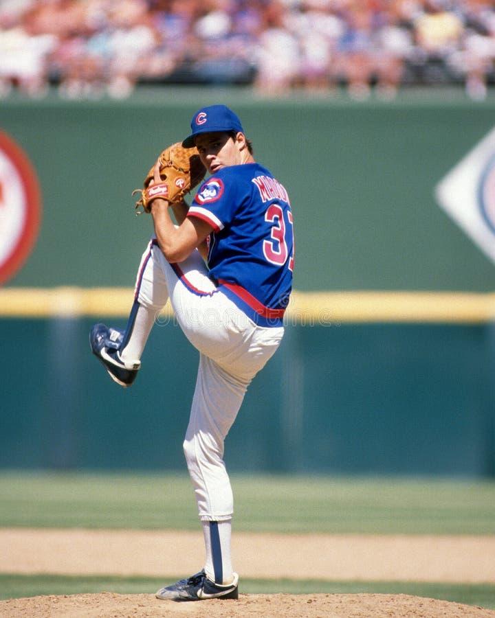 Greg Maddux van de Chicago Cubs royalty-vrije stock afbeelding