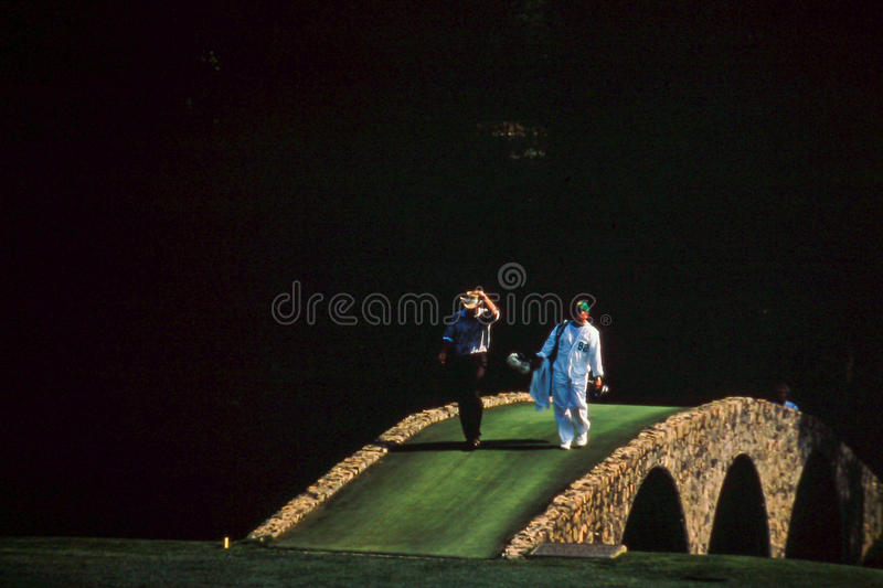 Greg Norman '99 Masters Championship royalty free stock images