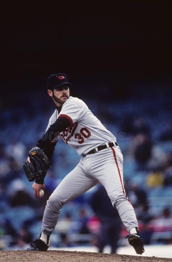 Greg Olson Baltimore Orioles στοκ εικόνες με δικαίωμα ελεύθερης χρήσης