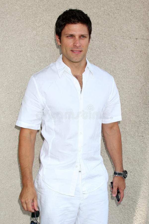 Greg Vaughn. Arriving at the General Hospital Fan Club Luncheon at the Airtel Plaza Hotel in Van Nuys, CA on July 18, 2009 stock images