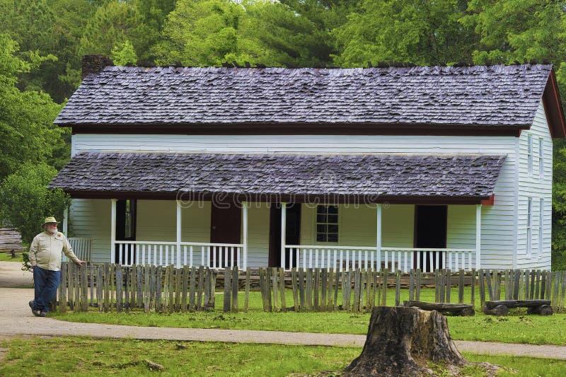 Gregg Cable House en vall?e de crique de Cades photographie stock libre de droits