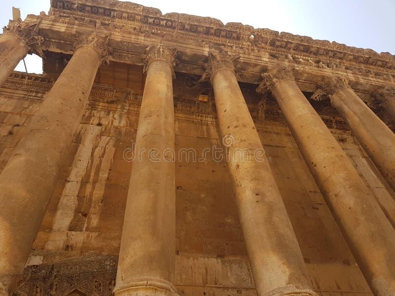 Grego romano antigo Médio Oriente da coluna fotografia de stock royalty free