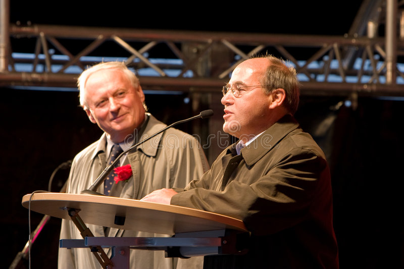Gregor Gysi and Oskar Lafontaine