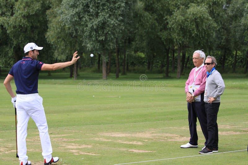 Gregory Bourdy Am Französischen Golf öffnen 2013 Redaktionelles Bild