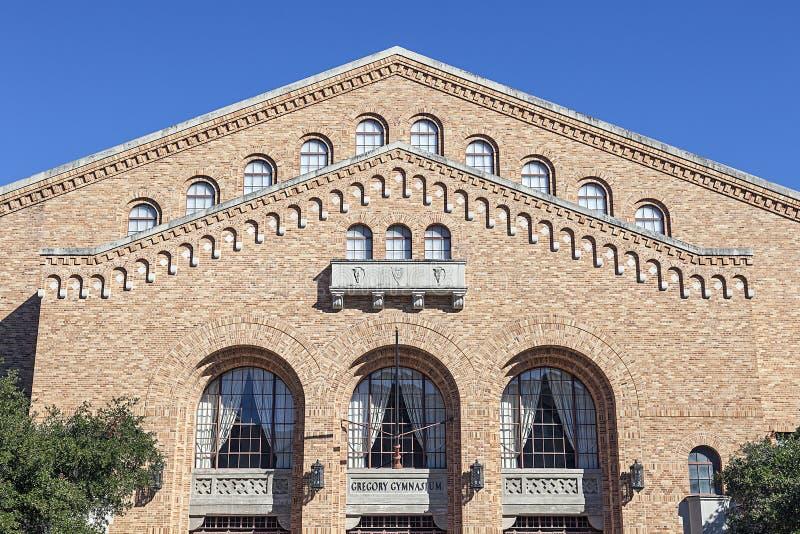 Gregory Gymnasium på Texasuniversitetet royaltyfria bilder
