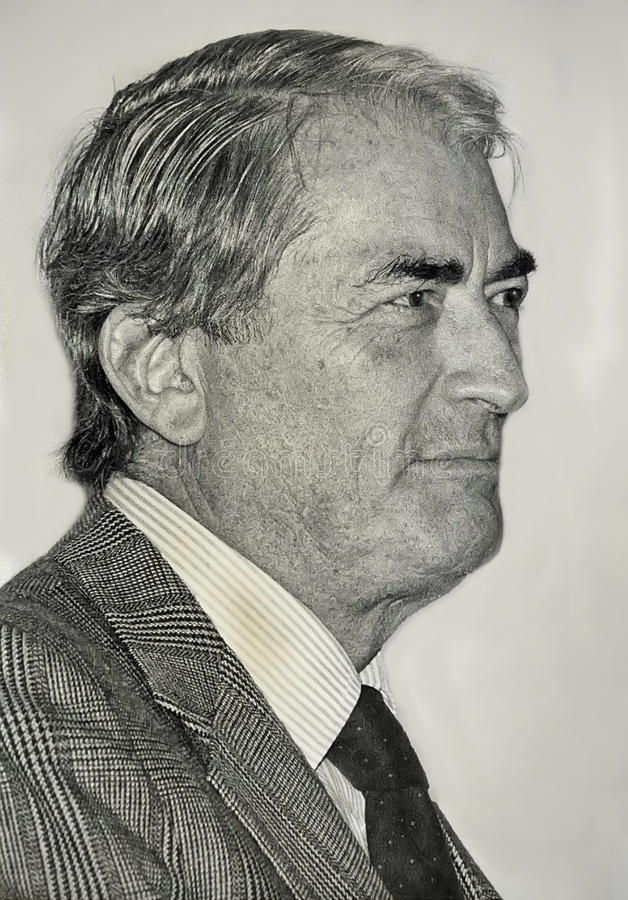 Gregory Peck immagine stock