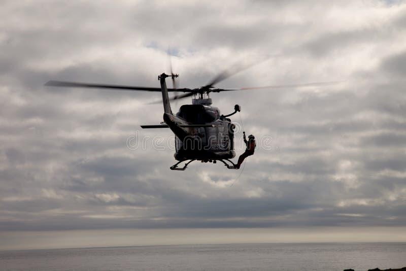 Greif-Hubschrauber lizenzfreie stockfotografie