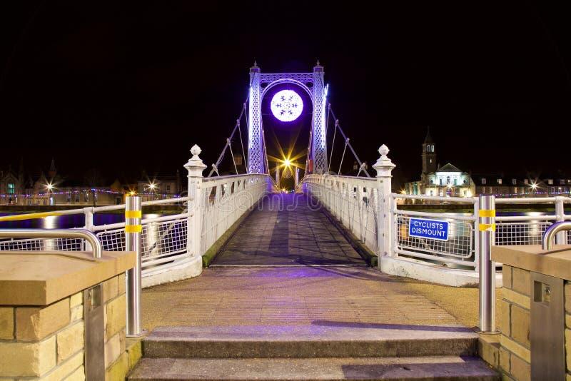 Greig St Bridge, Inverness, R-U images libres de droits