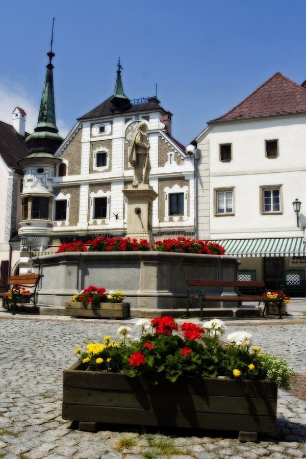 Grein, Oostenrijk royalty-vrije stock afbeeldingen