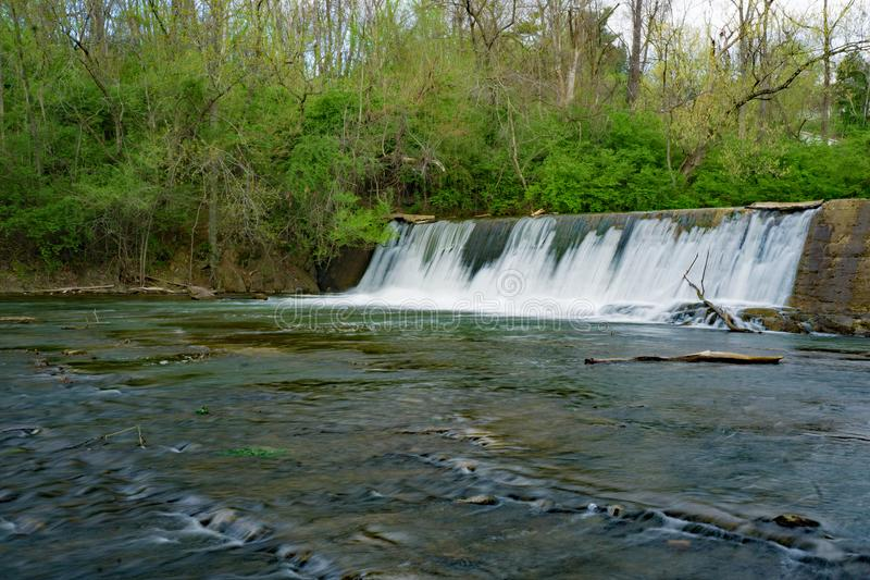 Greja Creek Dam arkivfoton