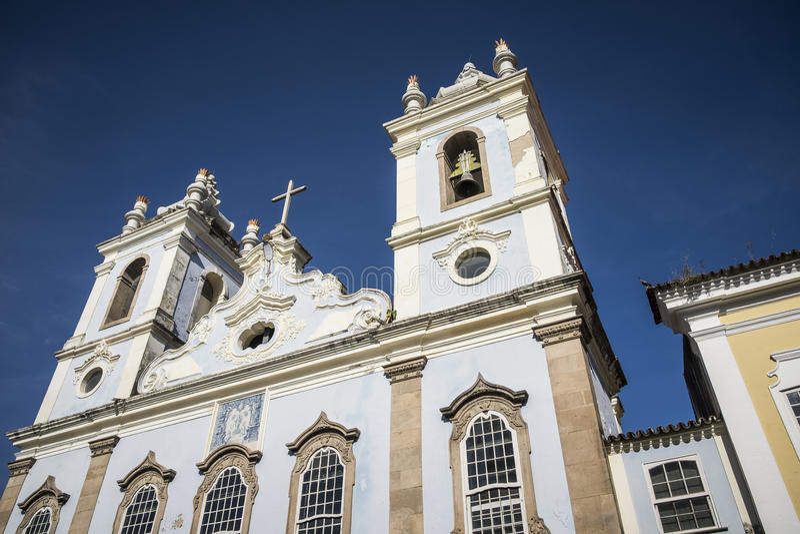 Greja da Ordem Terceira do Carmo church in Pelourinho, Salvador. Igreja da Ordem Terceira do Carmo church in Pelourinho, Salvador Salvador de Bahia, Bahia stock photos