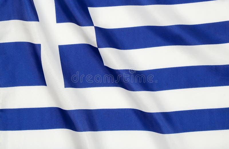 Grek flaga zdjęcie royalty free