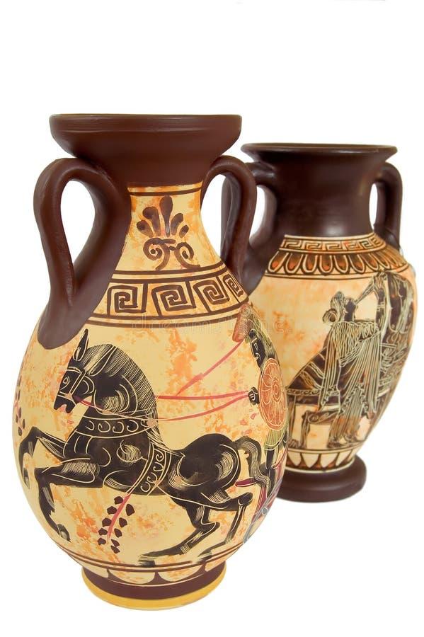 grek vases1 arkivbilder