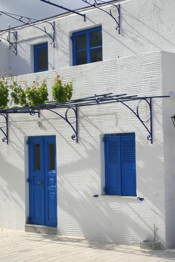 grekiskt hus royaltyfri bild