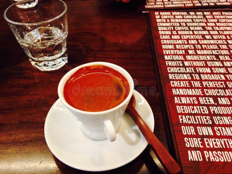 Grekiskt kaffe arkivbild