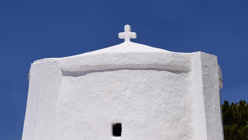 Grekiskt kapell arkivfoto