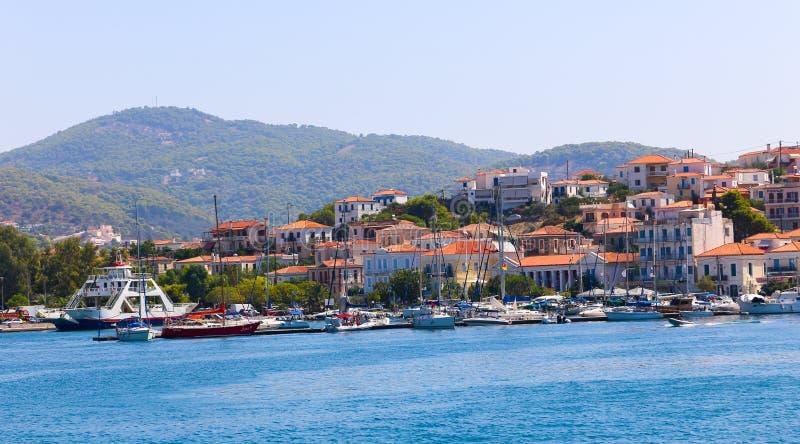 Grekland öar arkivbild