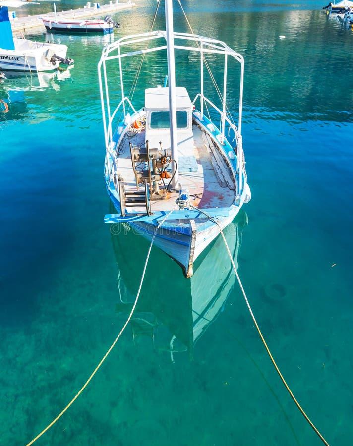 Grekland fartyg royaltyfria foton