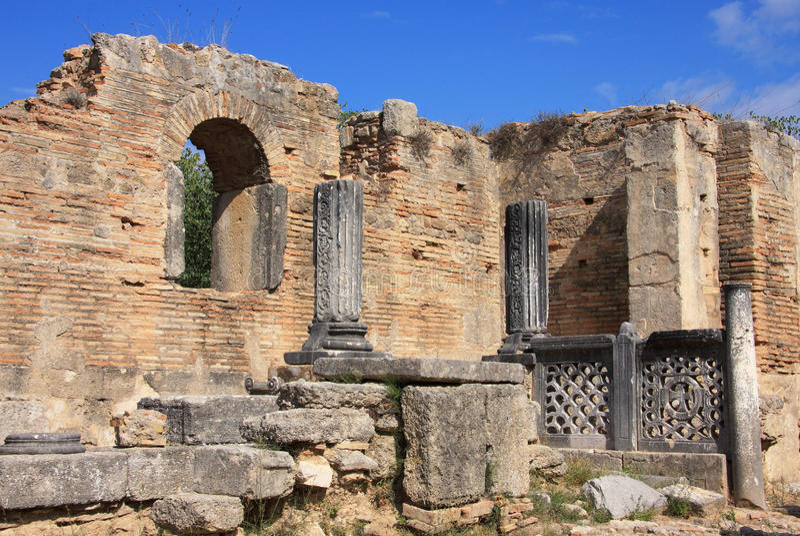 Grekland Olympia fördärvar av Olympia arkivbild