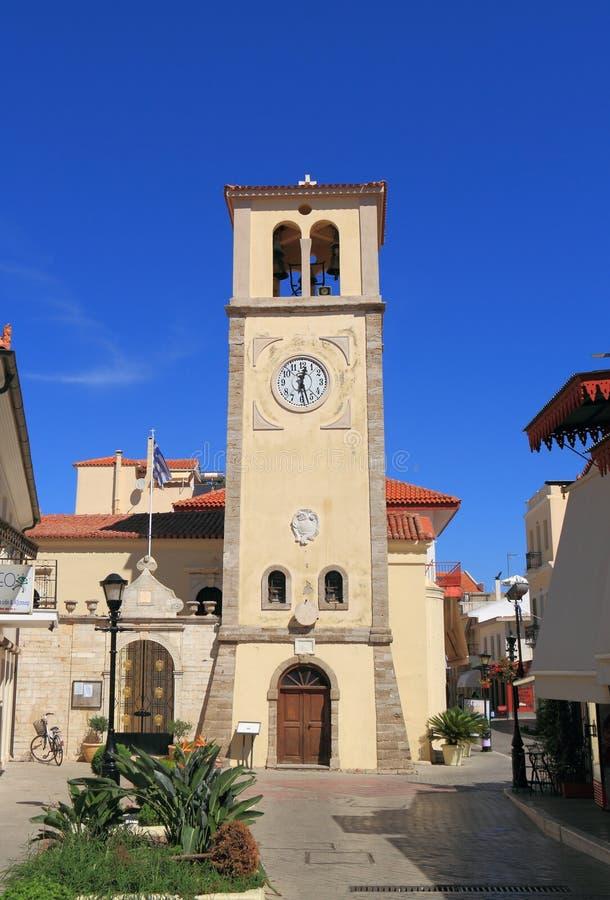 Grekland/Preveza: Venetian klockatorn fotografering för bildbyråer