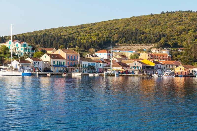 Grekland stad royaltyfri fotografi