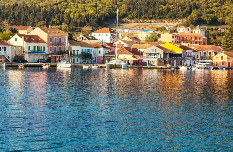 Grekland stad arkivbilder