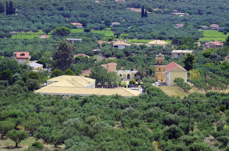 Grekland Zakynthos arkivbilder