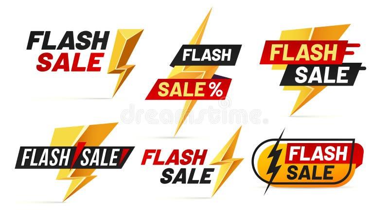 Greller Verkauf Mega- Verkaufsblitzausweise, bestes Abkommenblitzplakat und nur Angebotausweis-Vektorillustration heute kaufen vektor abbildung