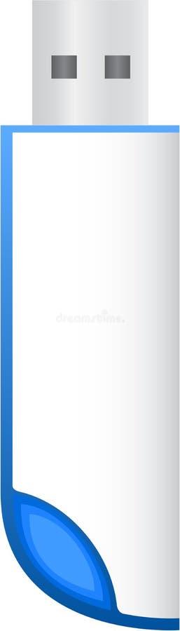 Grelles Laufwerk stock abbildung