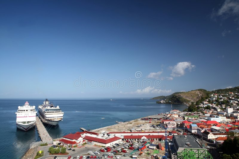 Download Grenada stock image. Image of george, travel, port, ocean - 4076793