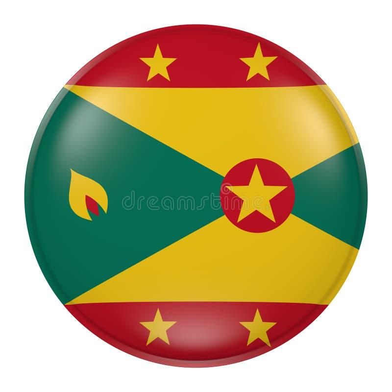 Grenada knapp stock illustrationer