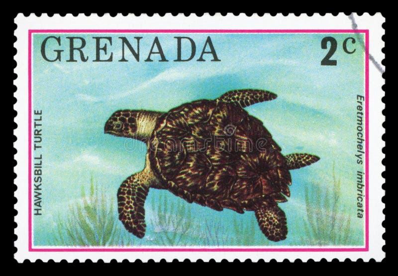 GRENADA - Portostämpel arkivfoto