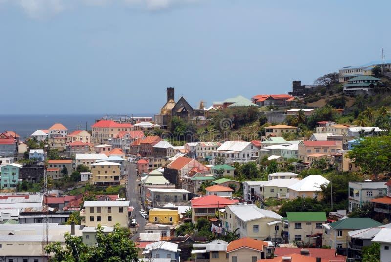 Grenada Str.-Georges lizenzfreie stockfotos