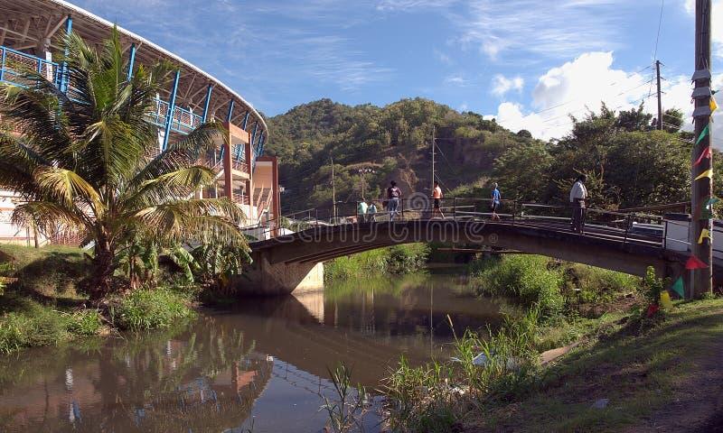 Grenada wyspa - świętego George ` s obrazy royalty free