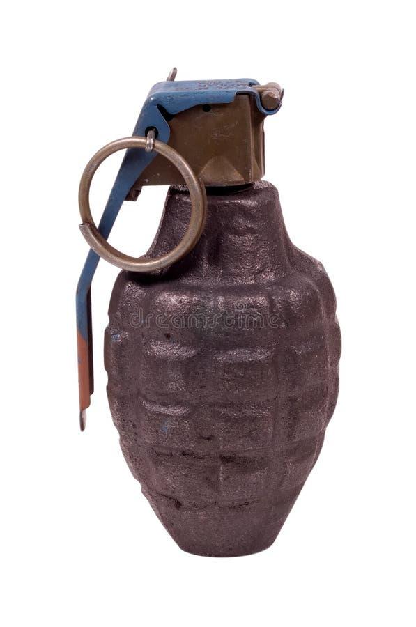 Grenade à main - chemin de découpage photos stock