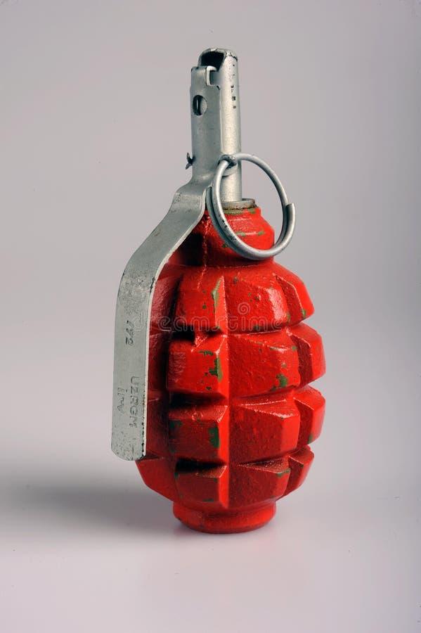 Grenade à main russe images libres de droits