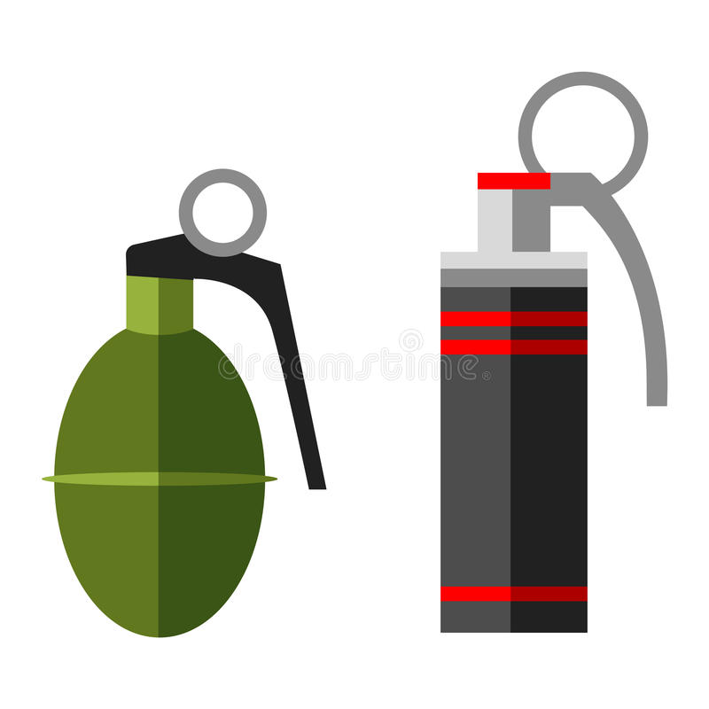 grenade bomb explosion weapons vector stock vector illustration rh dreamstime com Grenade 3D Model Grenade a Bunker