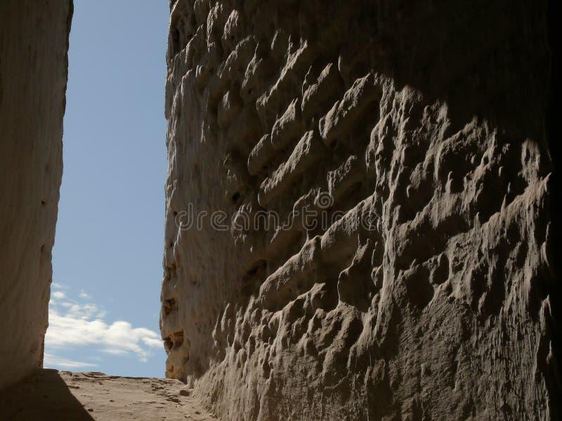 Grenade, Espagne Un mur antique à Alhambra photographie stock