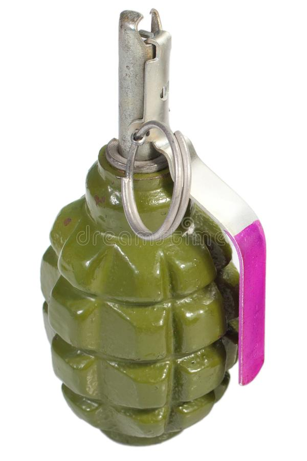 Grenade ? main de la fragmentation F-1 photo stock