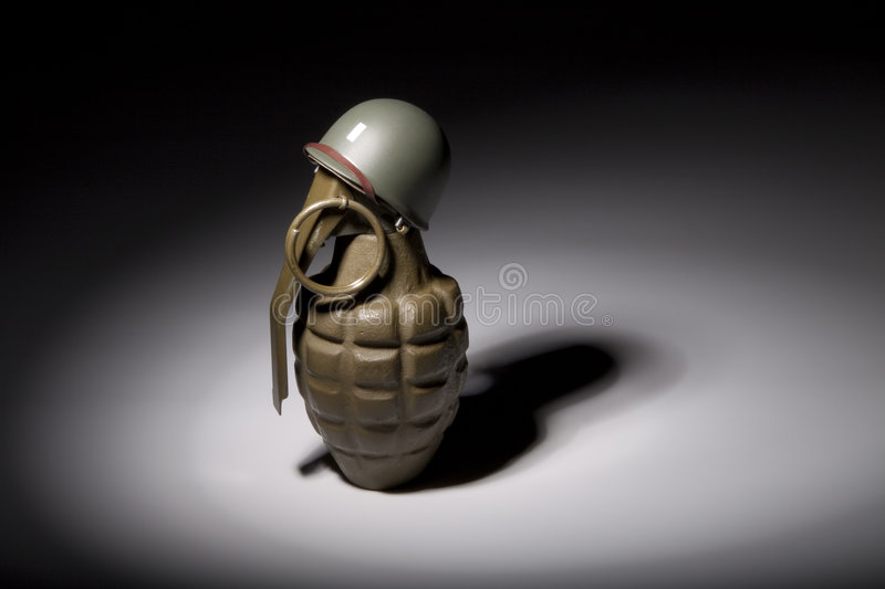 Download Grenade Soldier stock image. Image of explode, reflection - 7614465
