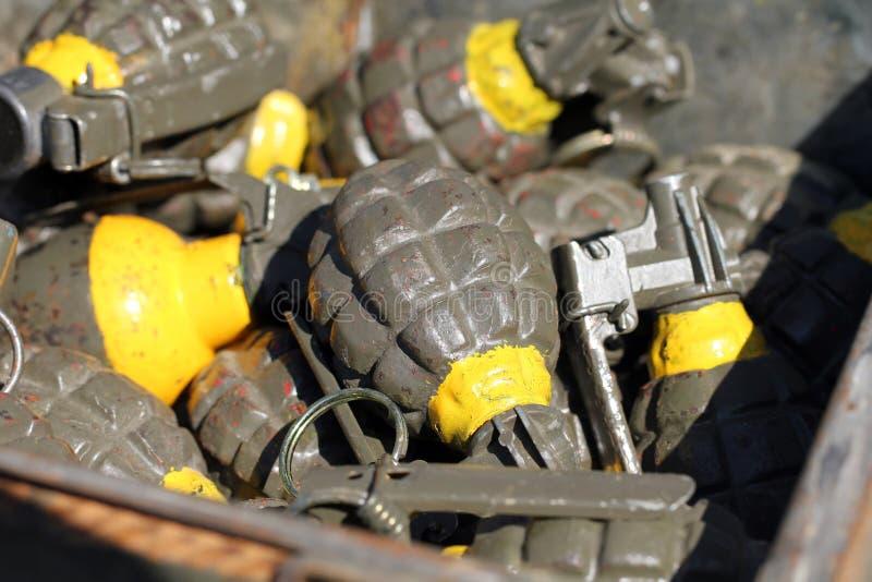 grenades fotografia de stock royalty free