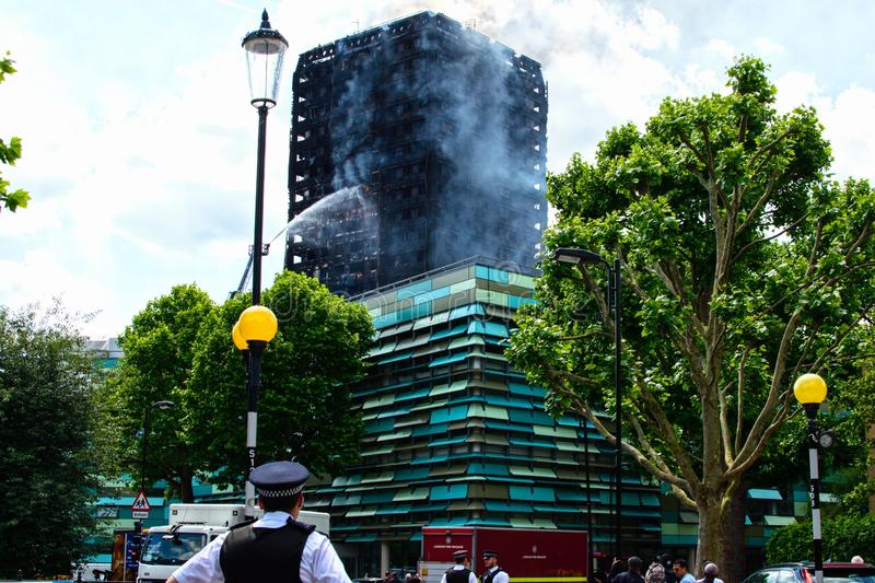 Grenfell Tower stock images