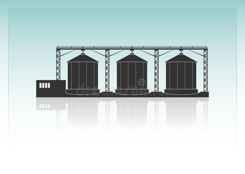 greniers illustration stock