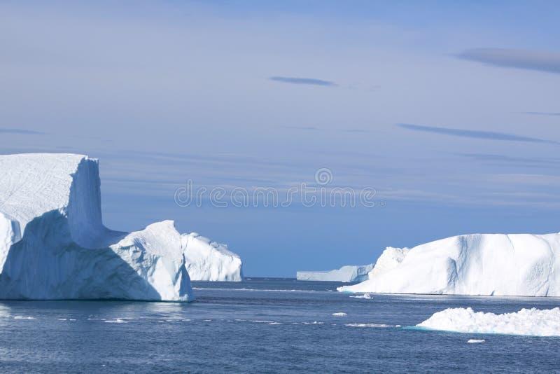 Grenland fiord royalty-vrije stock afbeelding