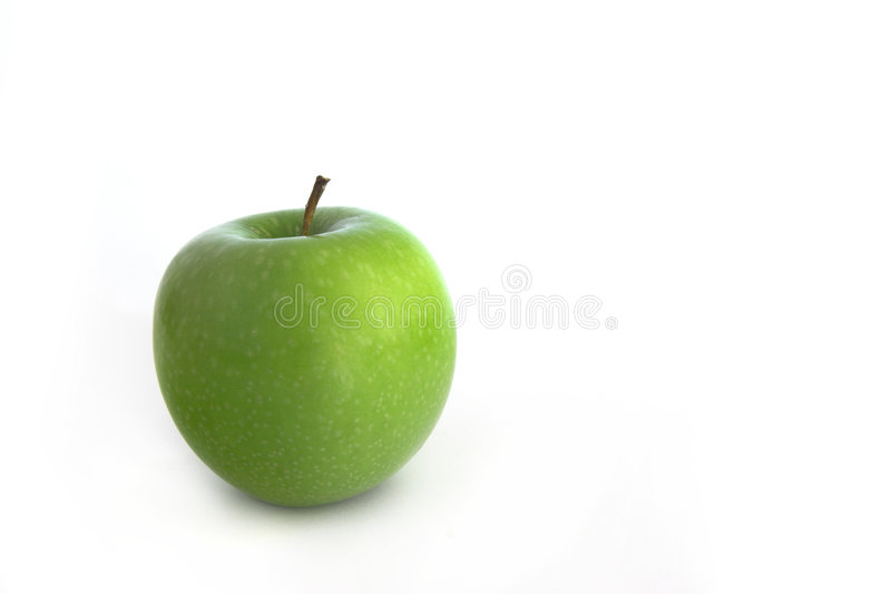 Grenn Apple imagem de stock royalty free