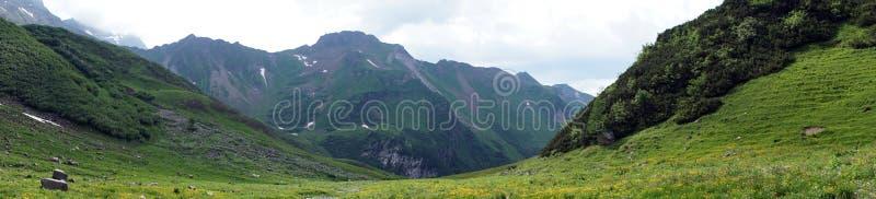 Grenn dolina w Lichtenstein fotografia stock