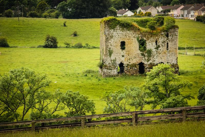 Grennan slott Thomastown ireland royaltyfria foton