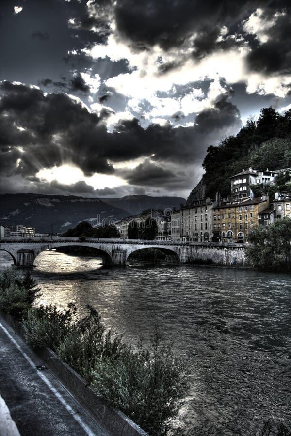 Download Grenoble stock image. Image of raggio, france, canon, water - 4310307