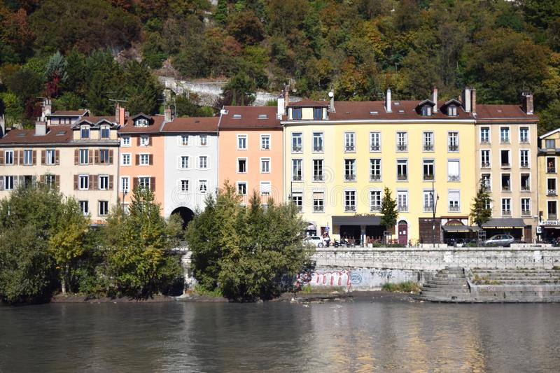 Grenoble, France royalty free stock photography
