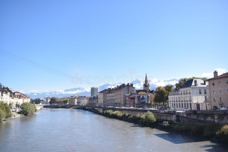 Grenoble, Francia fotografía de archivo libre de regalías